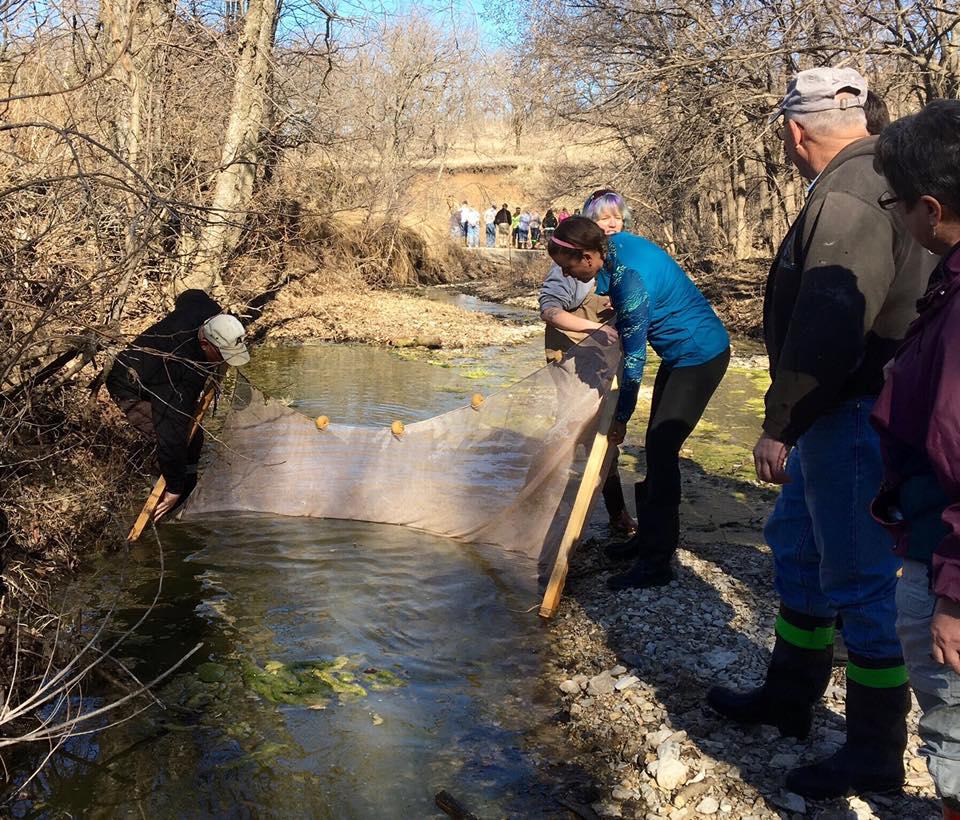 Kansas Naturalist Training Aquatics Day 2016
